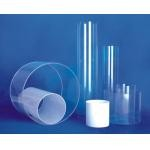 Acrylic tube of the flour milling